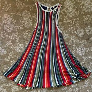 Rainbow stripe Free People dress